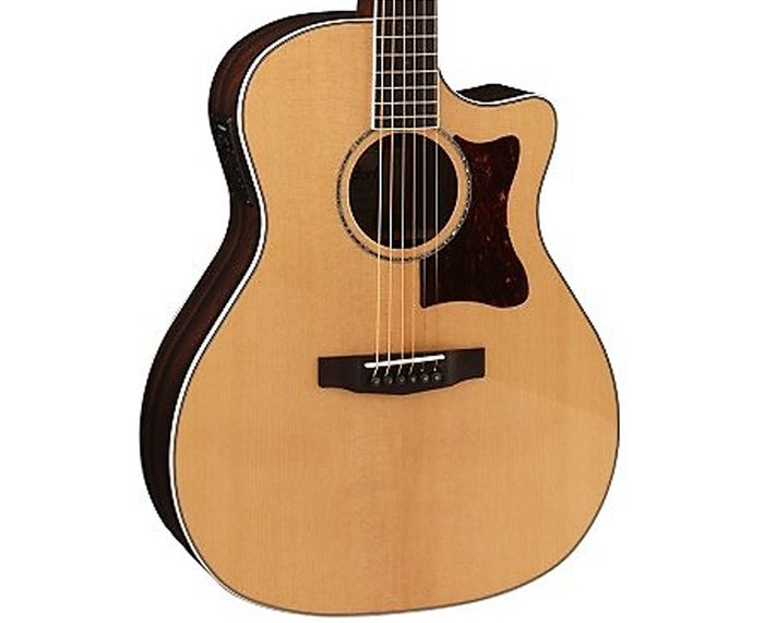 Cort Grand Regal Solid European Spruce Top Acoustic-Electric Guitar GA5FZRNAT-U