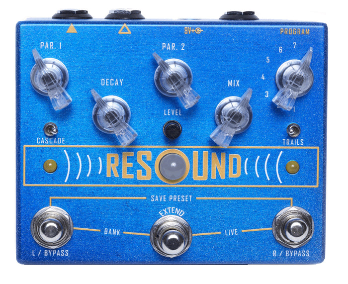 Cusack Music Resound - Digital Reverb w/ Presets & Extend Switch