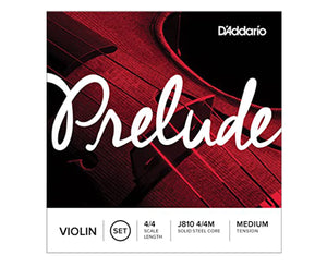 D'Addario Violin Prelude Set 4/4 Medium, J810 4/4M - Megatone Music