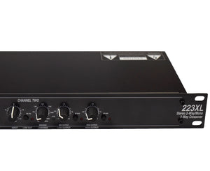 dbx 223XL Stereo 2-Way/Mono 3-Way Crossover with XLR Connectors