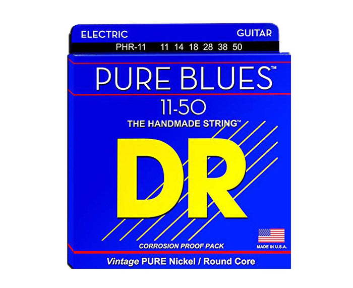 DR Strings Pure Blues PHR-11 Electric Guitar Strings