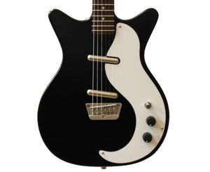Danelectro '59M-NOS Electric Guitar in Satin Black Electric Danelectro