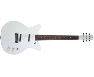 Danelectro '59M-NOS+ Electric Guitar in White - Megatone Music
