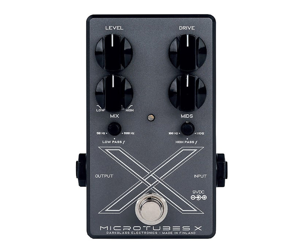 Darkglass Electronics Microtubes X Multiband Distortion Pedal for Bass