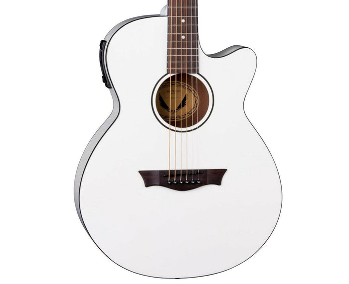 Dean AXS Performer Acoustic-Electric Guitar in Classic White