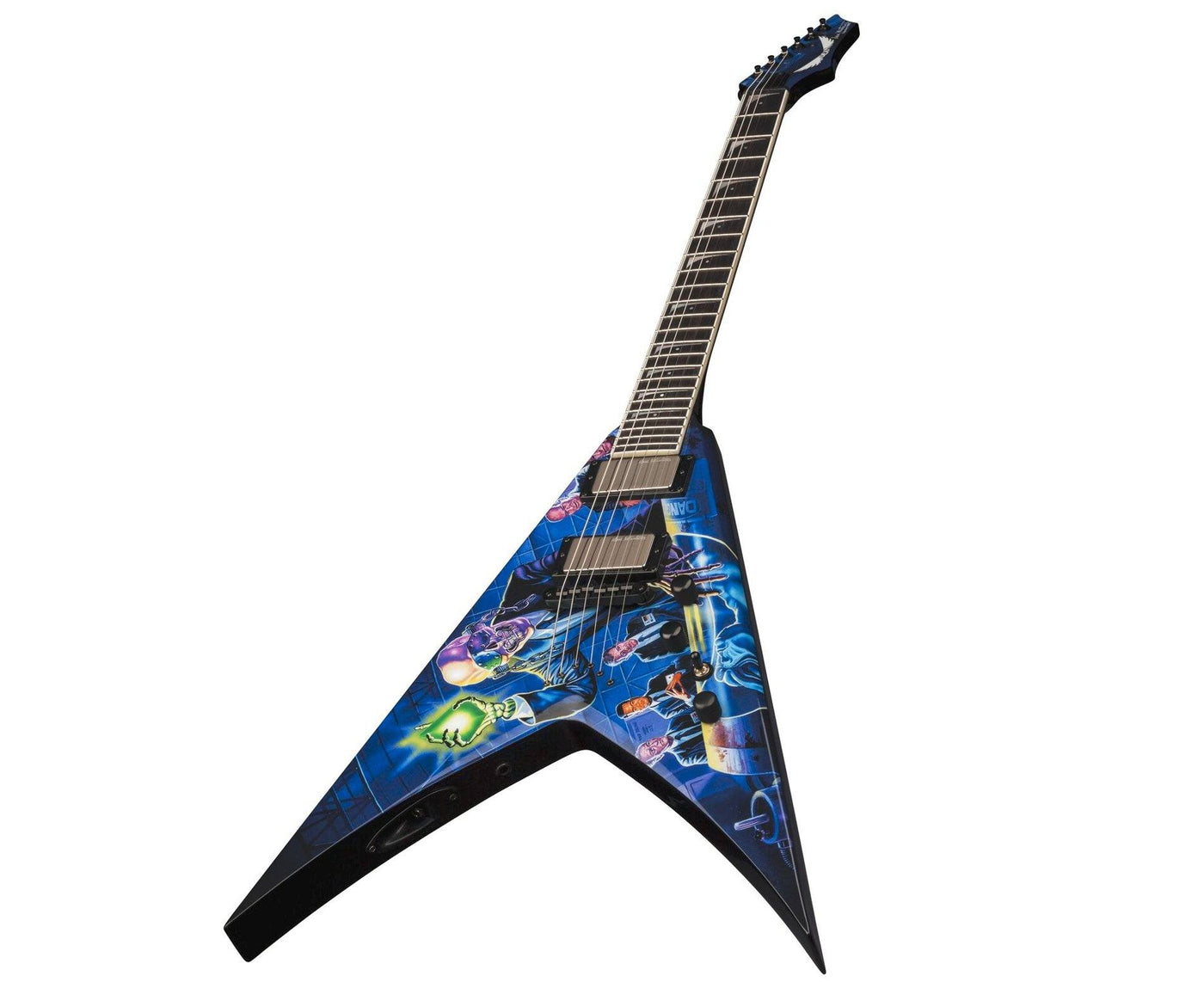 dean dave mustaine vmnt rust in peace electric guitar w case megatone music. Black Bedroom Furniture Sets. Home Design Ideas