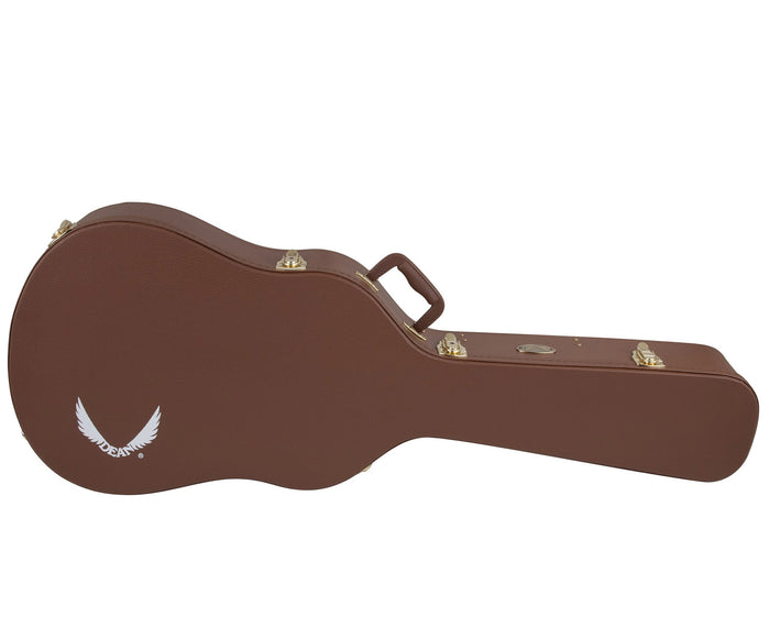 Dean Hard Shell Dreadnought Acoustic Guitar Case in Brown