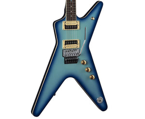 Dean ML 79 Floyd Rose Electric Guitar in Blue Burst