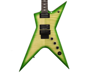 Dean Stealth Floyd FM Dime Slime Electric Guitar w/Case