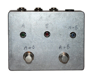 DenTone Prototype Transparent Splitter - One Off ABY Amp Selector DenTone