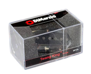 DiMarzio DP173BK Twang King Tele Bridge Pickup in Black Pickups DiMarzio