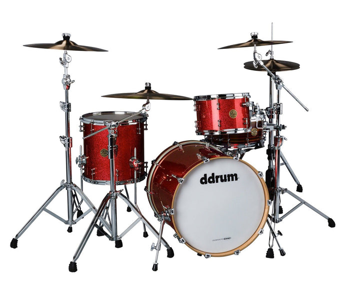 ddrum Dios DSMP-320RCS 3-Piece Red Cherry Sparkle Shell Pack