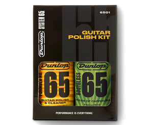 Dunlop 6501 Guitar Polish Kit with Formula 65 Polish & Wax - Megatone Music