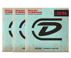 Dunlop Rev Willy's Lottery Brand 10-46 Electric Guitar Strings 3-Pack Electric Guitar Strings Dunlop