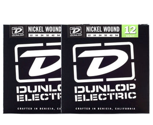 Dunlop DEN1254 Nickel-plated Steel Electric Guitar Strings 2-Pack Electric Guitar Strings Dunlop