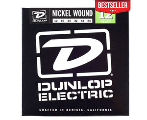 Dunlop DEN1254 Nickel-plated Steel Electric Guitar Strings Electric Guitar Strings Dunlop