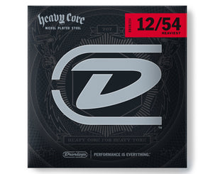 Dunlop Heavy Core 12-54 Heaviest Electric Guitar Strings Electric Guitar Strings Dunlop