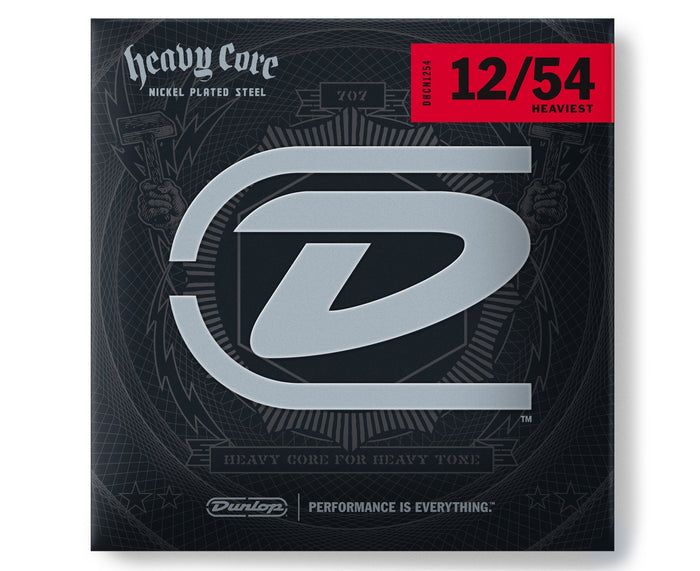 Dunlop Heavy Core 12-54 Heaviest Electric Guitar Strings