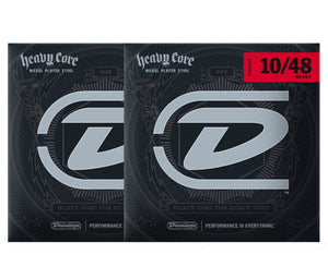 Dunlop Heavy Core 10-48 Heavy Electric Guitar Strings 2-Pack Electric Guitar Strings Dunlop