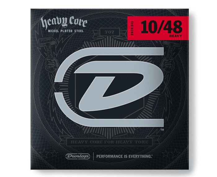 Dunlop Heavy Core 10-48 Heavy Electric Guitar Strings