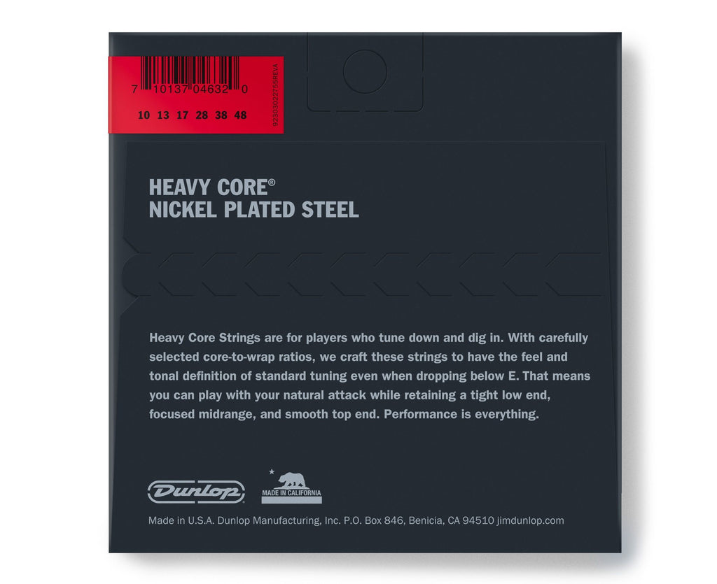 Dunlop Heavy Core 10-48 Heavy Electric Guitar Strings 2-Pack - Megatone Music