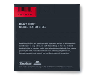 Dunlop Heavy Core 10-48 Heavy Electric Guitar Strings 3-Pack Electric Guitar Strings Dunlop