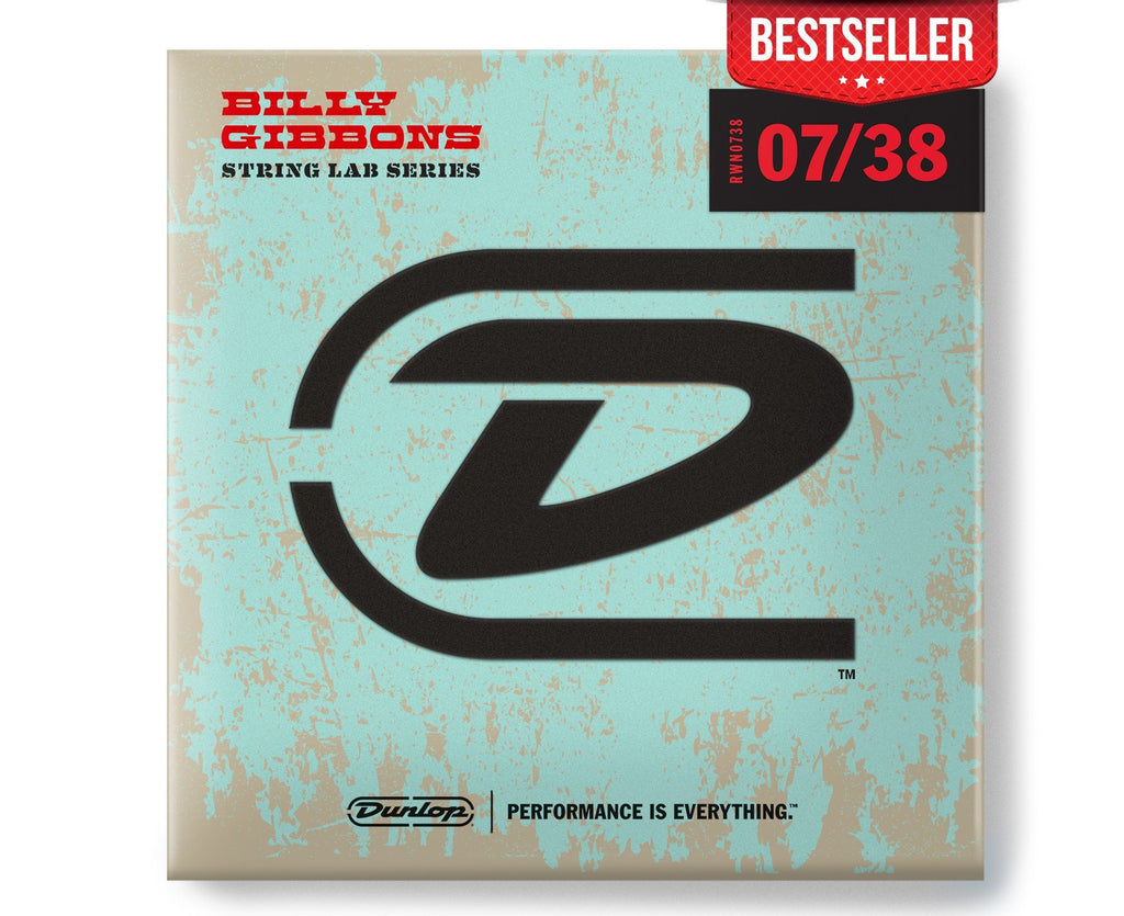 Dunlop Rev Willy's Lottery Brand Super Fine 7-38 Electric Guitar Strings Electric Guitar Strings Dunlop