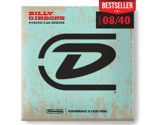 Dunlop Rev Willy's Lottery Brand Fine Gauge 8-40 Electric Guitar Strings Electric Guitar Strings Dunlop