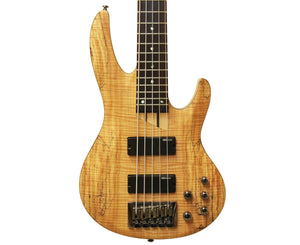 ESP LTD B-205B 5-String Bass Guitar in Spalted Maple - Megatone Music