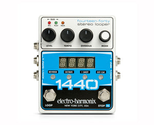 Electro-Harmonix EHX 1440 Stereo Recording Looper Guitar Pedal
