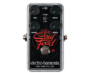 Electro-Harmonix Bass Soul Food Transparent Overdrive Distortion