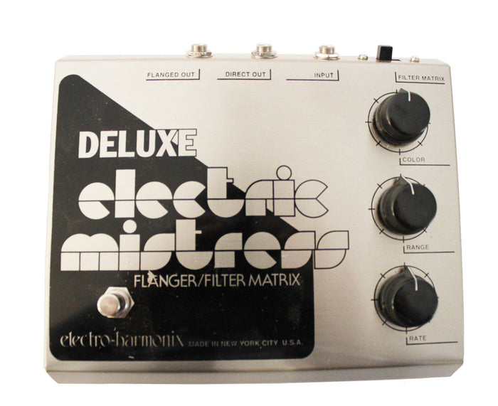 Electro-Harmonix Deluxe Electric Mistress Flanger/Filter Effects Pedal