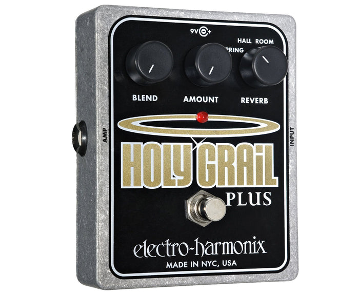 Electro-Harmonix Holy Grail Plus Reverb Effects Pedal