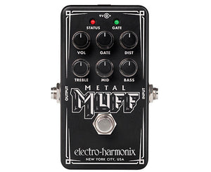 Electro-Harmonix Metal Muff Nano Distortion Effects Pedal