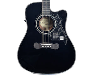 "Epiphone Dave Navarro Signature Model ""Jane"" Acoustic-Electric Guitar"