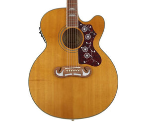 Epiphone EJ-200SCE Acoustic-Electric Guitar in Vintage Natural