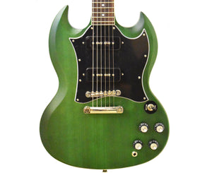 Epiphone SG Classic Worn P90 Electric Guitar in Inverness Green