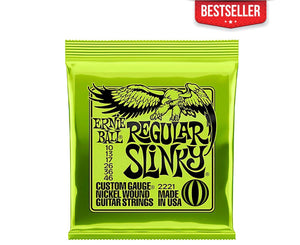 Ernie Ball 2221 Regular Slinky 10-46 Electric Guitar Strings - Megatone Music