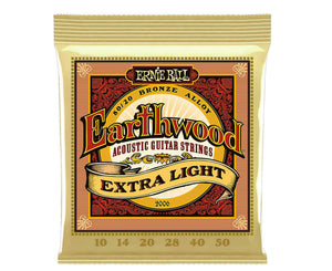 Ernie Ball 2006 Earthwood 80/20 Bronze 10-50 Extra Light Acoustic Guitar Strings