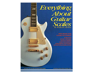 Everything About Guitar Scales by Wilbur M. Savidge