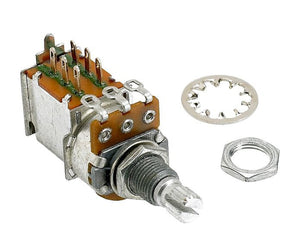 Fender 250K Push/Pull Split Shaft Potentiometer