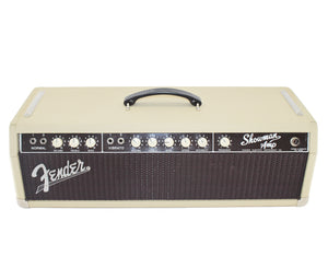 Fender 1962 Blonde Showman Amp Head with Oxblood Grill