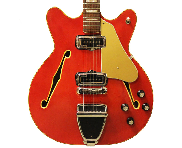 Fender Coronado II Hollow-body Electric Guitar 1966