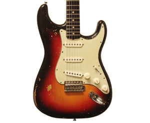 Fender Eric Johnson's 1962 Stratocaster in 3 Tone Sunburst Fender Guitars Fender