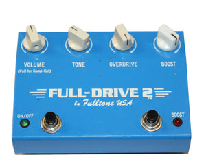 Fulltone Full-Drive 2 Overdrive and Boost Effects Pedal - Early Version