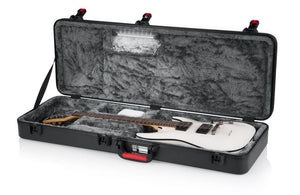 Gator TSA Series LED Standard Electric Guitar Case - Megatone Music