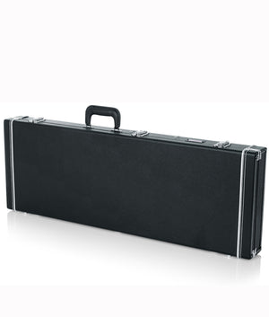 Gator Deluxe Wood Case for Electric Guitars Black - Megatone Music