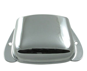Original Fender® bridge Ashtray Cover for Vintage P-Bass, Chrome - Megatone Music