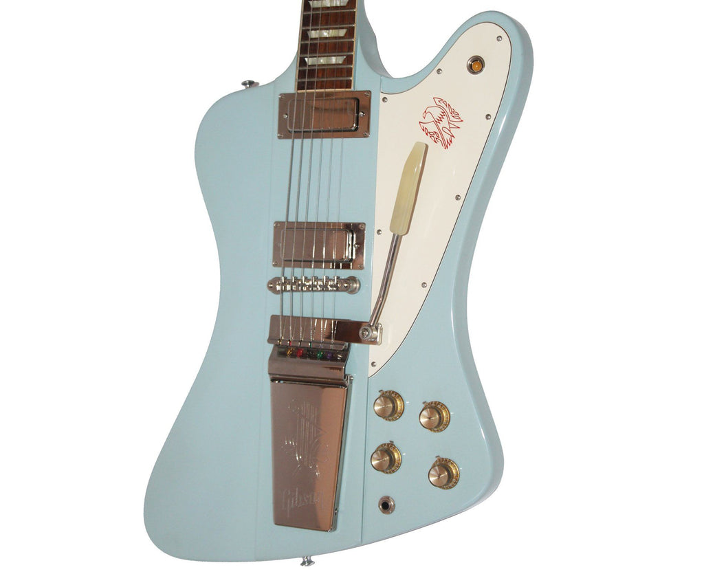 Gibson Custom Shop Firebird V in Frost Blue Electric Gibson