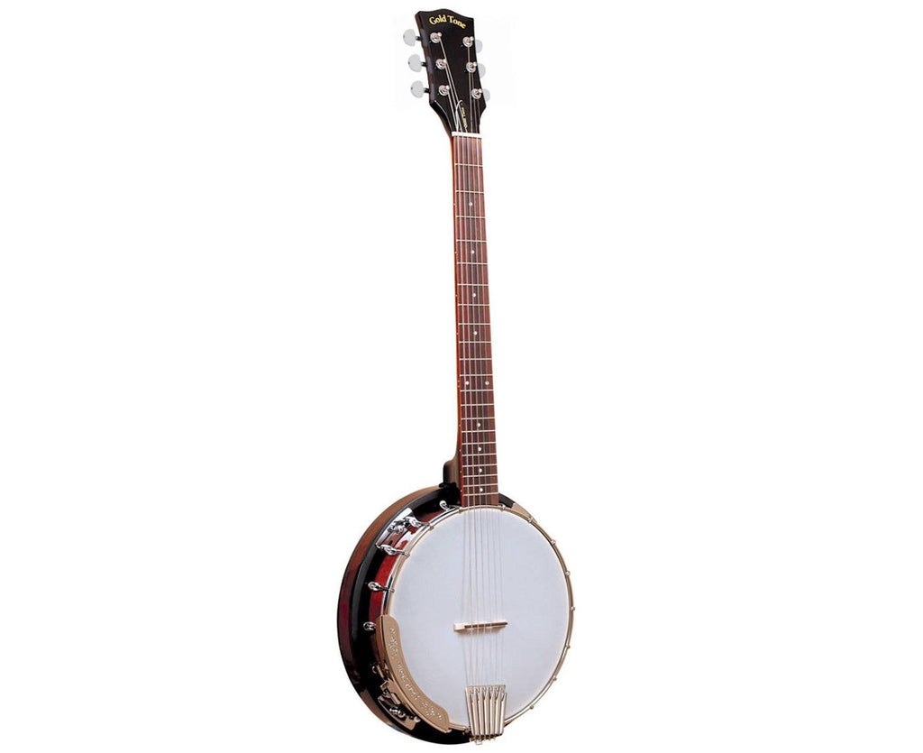 Gold Tone CC-Banjitar Cripple Creek 6-string Banjo Guitar with SMP+ Pickup - Megatone Music